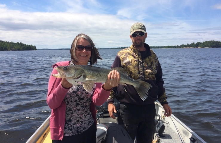 Spring is a great time to walleye fish...